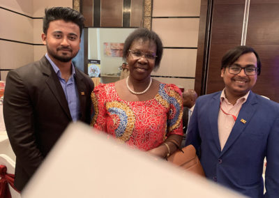 Uganda - India business conference, Kolkata 2019-4